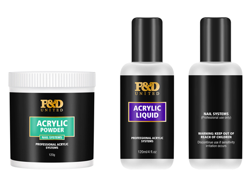 P&D Nail Acrylic Powder and Liquid