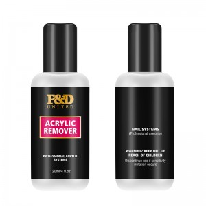 Acetone Acrylic Remover 120ml 4 Fl.OZ