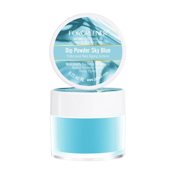 Nail Dip Powder Sky Blue 8g/0.25oz